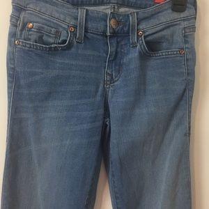 Level 99 Dahlia 25 Coastal Wash Flare leg jeans